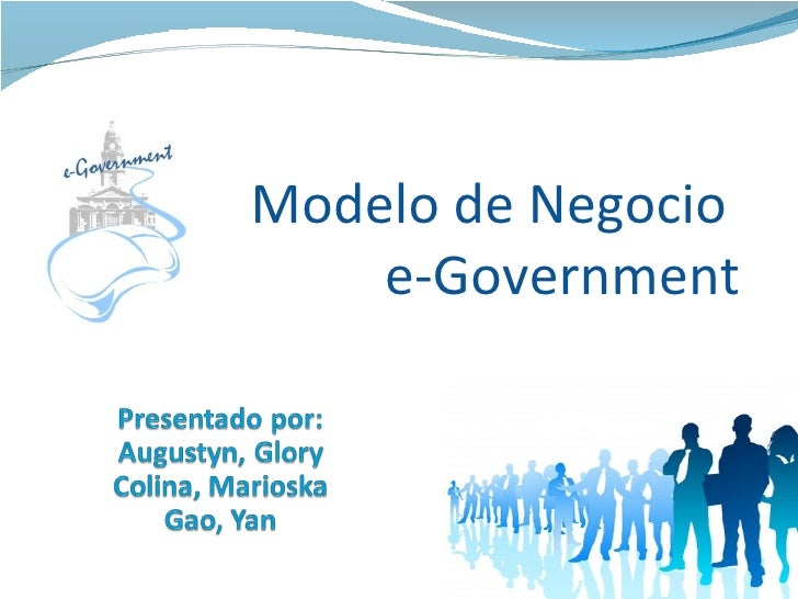 Modelo de Negocio  e-Government