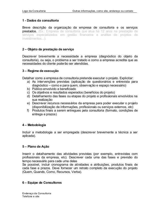 Modelo   proposta comercial - profa. daniela Slide 2