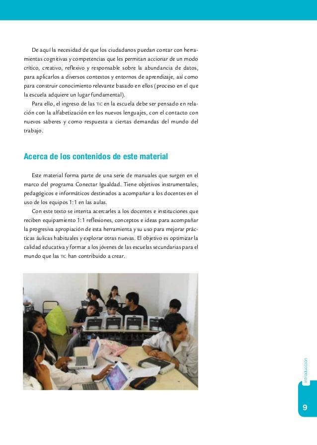9 introducción De aquí la necesidad de que los ciudadanos puedan contar con herra- mientas cognitivas y competencias que l...