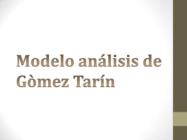 MODELO DE ANALISIS                    •   Concepto de análisis•       Interpretación.•         Dos leyes-prohibiciones de ...