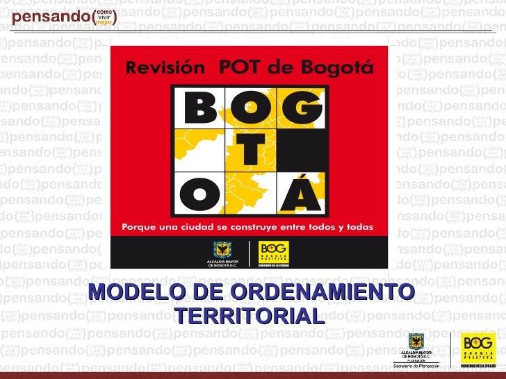 <ul><ul><li>MODELO DE ORDENAMIENTO TERRITORIAL   </li></ul></ul>