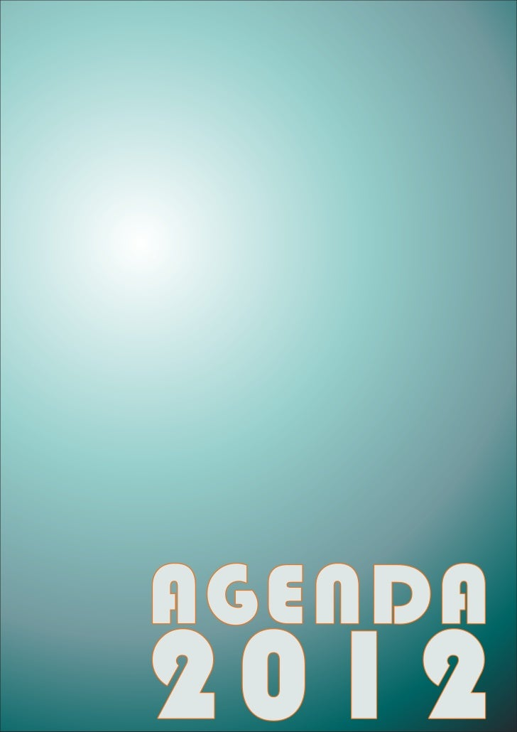 Modelo Agenda 2012 A4