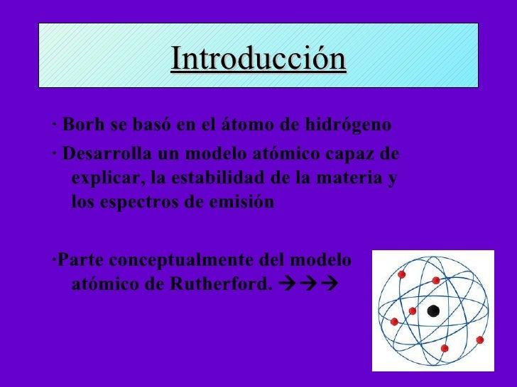 Modelo atómico de Borh  Slide 2