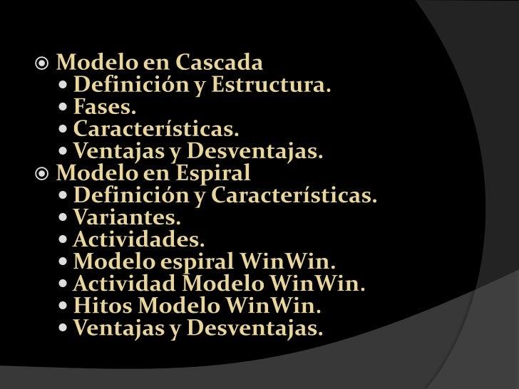 Modelo en Cascada<br />Definición y Estructura.<br />Fases.<br />Características.<br />Ventajas y Desventajas.<br />Modelo...