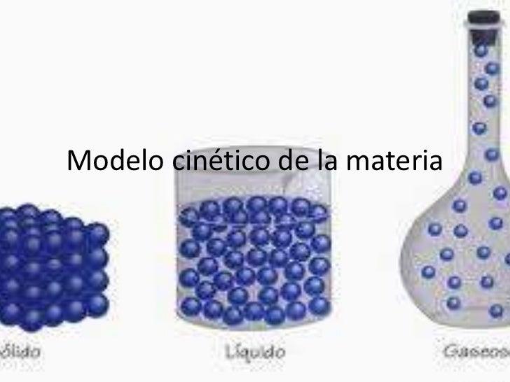 modelo cin tico de la materia On modelo solido con guijarros