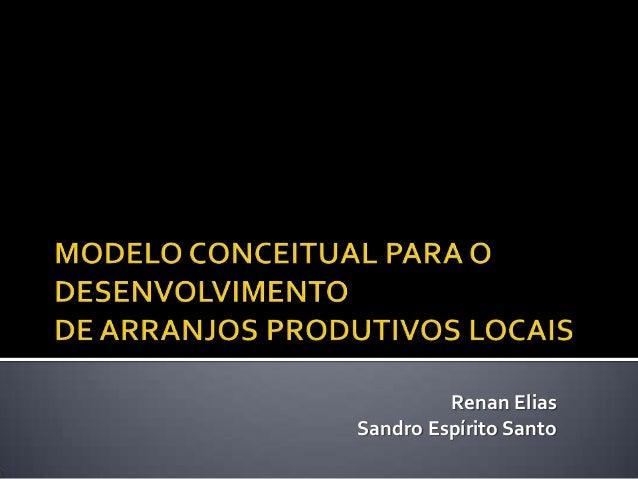 Renan Elias Sandro Espírito Santo