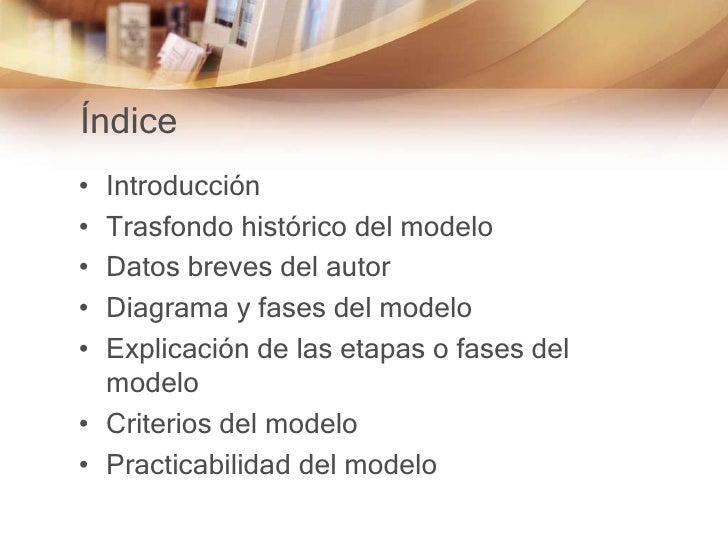 Modelo curricular - David G. Armstrong. Slide 2
