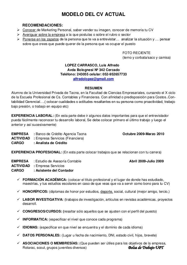 Único Formato De Currículum Para Trabajos En Dubai Foto - Colección ...
