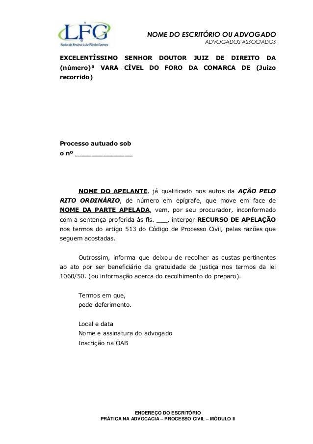 NOME DO ESCRITÓRIO OU ADVOGADO  ADVOGADOS ASSOCIADOS  EXCELENTÍSSIMO SENHOR DOUTOR JUIZ DE DIREITO DA  (número)ª VARA CÍVE...