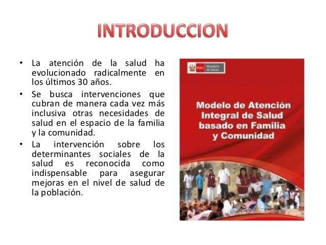 Modelo de Atención Integral de Salud - Perú Slide 2