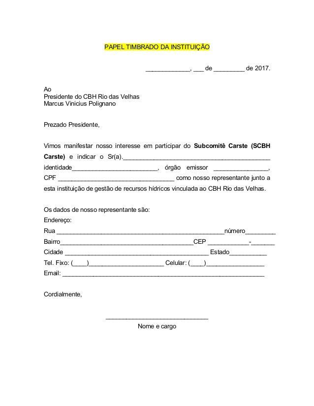 carta de referencia de trabajo