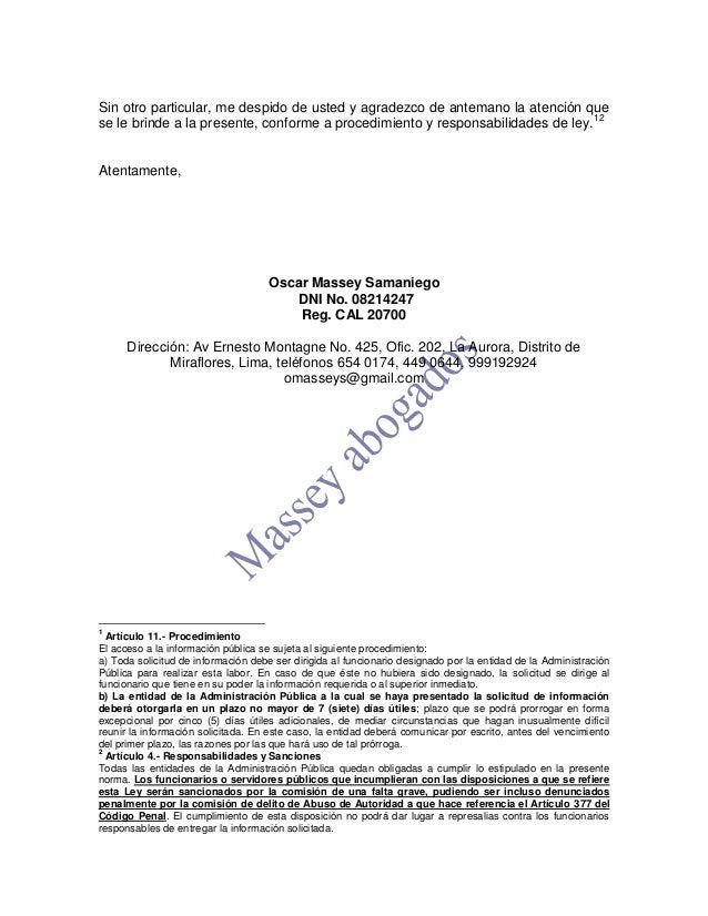 Solicitud de acceso a la informacion publica for Oficina de transparencia y acceso ala informacion