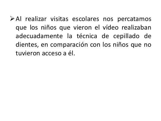 6. RETROALIMENTACIÓN DEL              PROGRAMA. Podemos concluir que la realización del vídeo fue  una estrategia acertad...