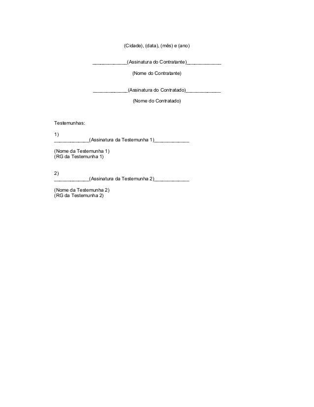 Modelo de contrato - Promito Consultoria Slide 3