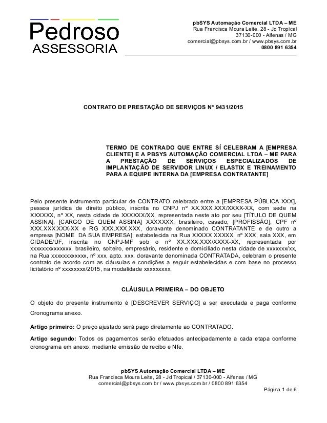 pbSYS Automação Comercial LTDA – ME Rua Francisca Moura Leite, 28 - Jd Tropical 37130-000 - Alfenas / MG comercial@pbsys.c...