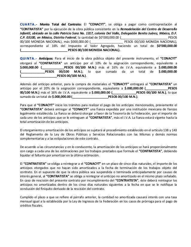 Modelo de contrato obra cendi - Modelos de barbacoas de obra ...