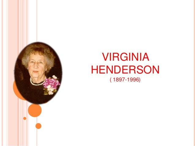compare and contrast virginia henderson theory to florence nightingale