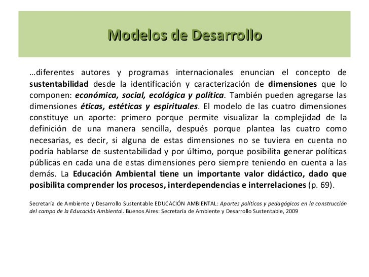 Modelo de desarrollo logo Slide 2