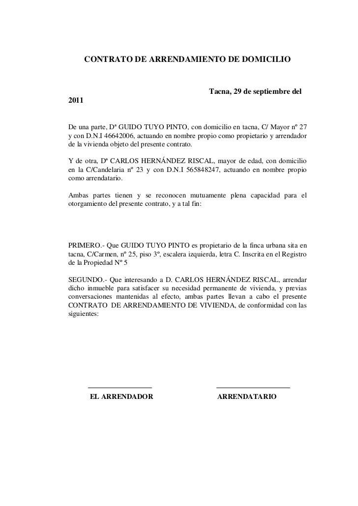 Modelo de documentos for Contrato documento