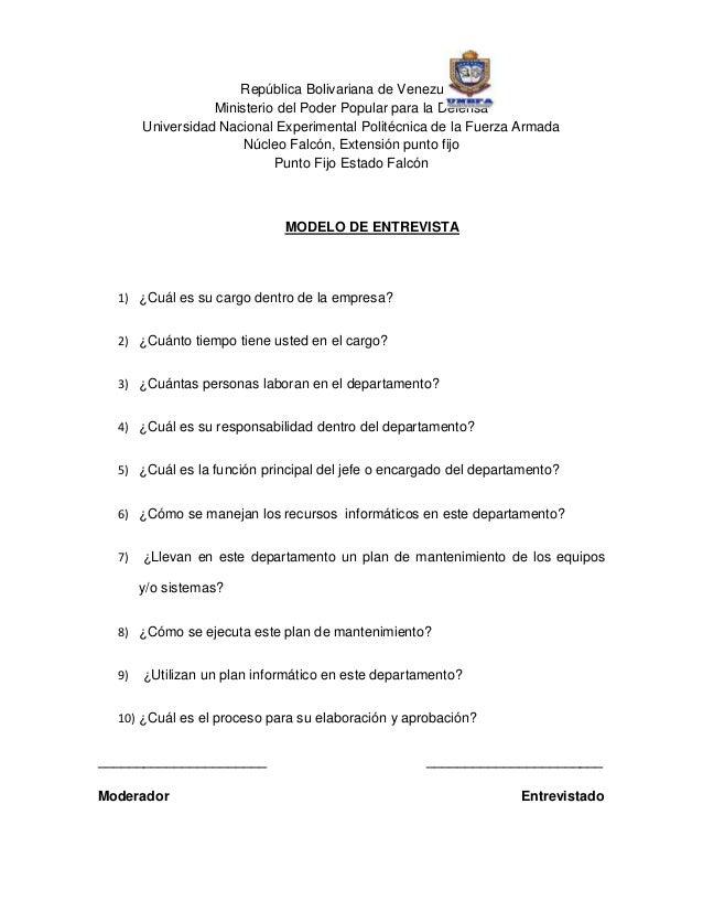 República Bolivariana de Venezuela                  Ministerio del Poder Popular para la Defensa       Universidad Naciona...