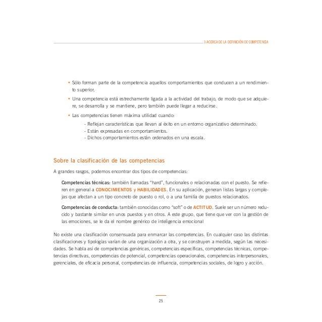 4 EL MAPA DE COMPETENCIAS  En su denominación, estas competencias coinciden con las que se dan en organizaciones de otros ...