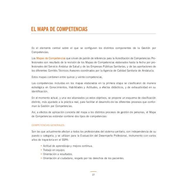 4 EL MAPA DE COMPETENCIAS  30