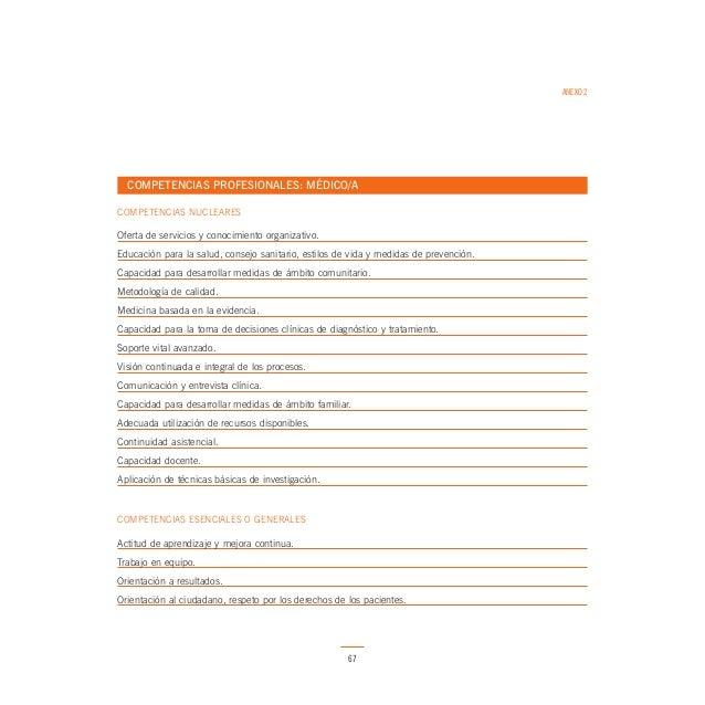 ANEXO 2  COMPETENCIAS PROFESIONALES: BIÓLOGO/A COMPETENCIAS NUCLEARES  Oferta de servicios y conocimiento organizativo. Ed...
