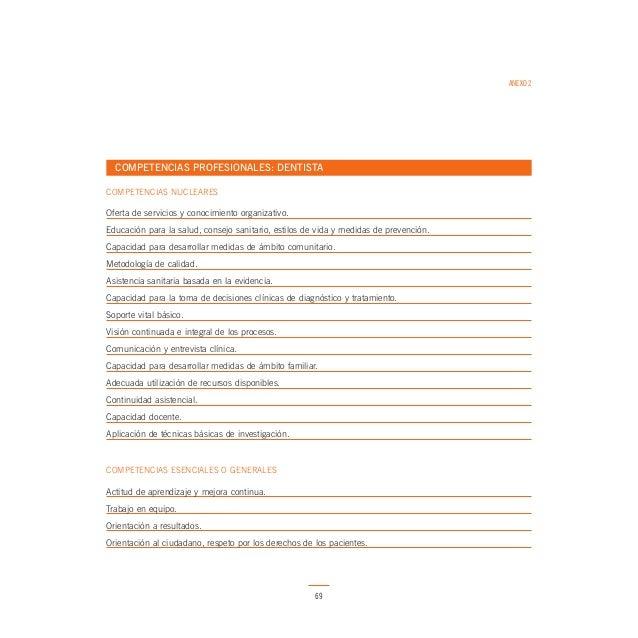 ANEXO 2  COMPETENCIAS PROFESIONALES: FÍSICO/A COMPETENCIAS NUCLEARES  Oferta de servicios y conocimiento organizativo. Edu...