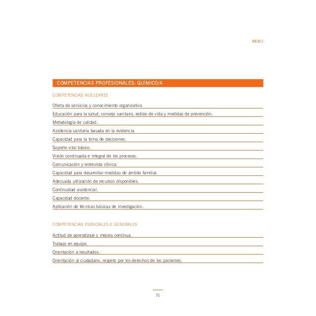 ANEXO 2  COMPETENCIAS PROFESIONALES: FISIOTERAPEUTA COMPETENCIAS NUCLEARES  Oferta de servicios y conocimiento organizativ...