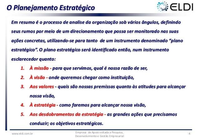 Modelo de gestão - Planejamento Estratégico, Gestão de