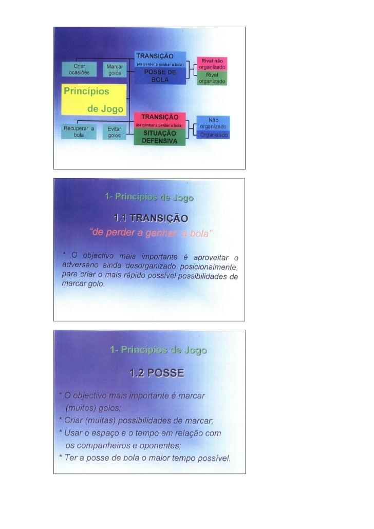 José Mourinho - Modelo de jogo (FCP) Slide 3