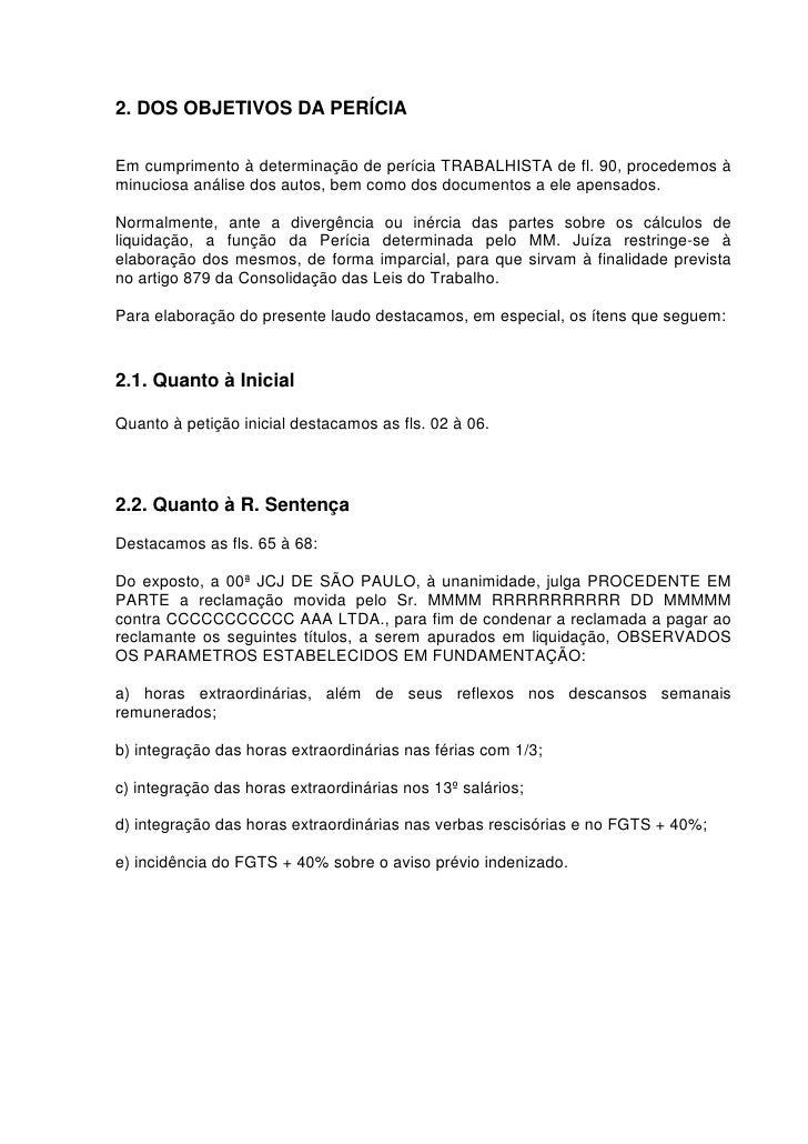 Modelo Quesitos Para Perícia Trabalhos Acadêmicos October