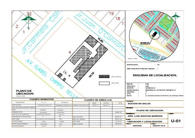 Localización De Una Casa En El Mapa: Modelo Del Plano De Ubicacion Recover Layout1