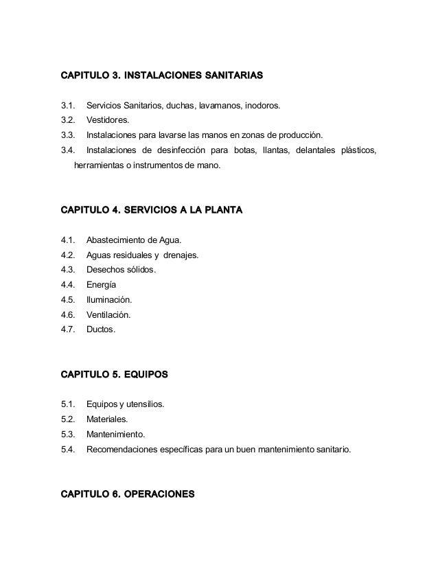 Modelo de manual de buenas prácticas de manufactura en la industria d…