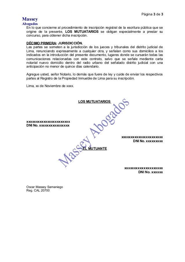 Modelo de minuta reconocimiento de deuda mutuo y for Modelo acuerdo extrajudicial clausula suelo