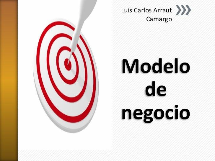 Luis Carlos Arraut         CamargoModelo  denegocio