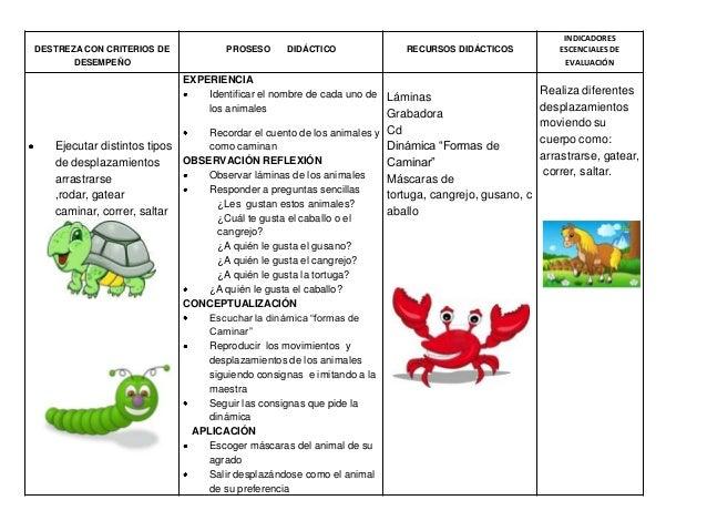 Modelo de planificaci n para nivel inicial 1 erca x c for Planificacion de educacion inicial