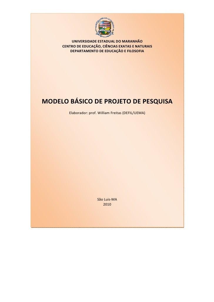 UNIVERSIDADE ESTADUAL DO MARANHÃO     CENTRO DE EDUCAÇÃO, CIÊNCIAS EXATAS E NATURAIS         DEPARTAMENTO DE EDUCAÇÃO E FI...