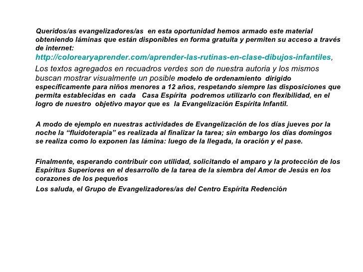 Queridos/as evangelizadores/as en esta oportunidad hemos armado este materialobteniendo láminas que están disponibles en f...