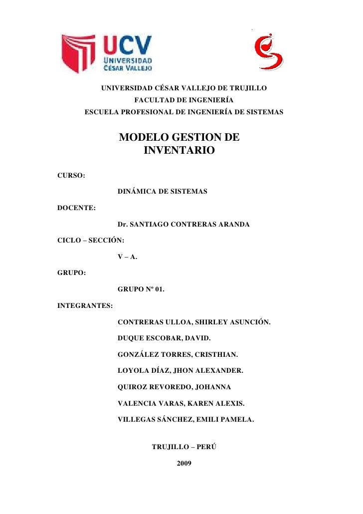 178435-209550<br />UNIVERSIDAD CÉSAR VALLEJO DE TRUJILLO<br />FACULTAD DE INGENIERÍA<br />ESCUELA PROFESIONAL DE INGENIERÍ...