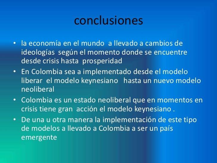 Modelo economico colombiano for Clausula suelo desde cuando se aplica