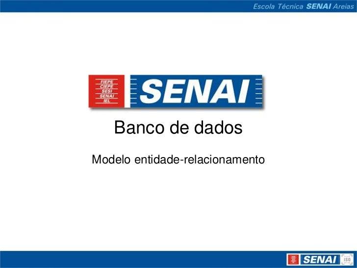 Banco de dadosModelo entidade-relacionamento