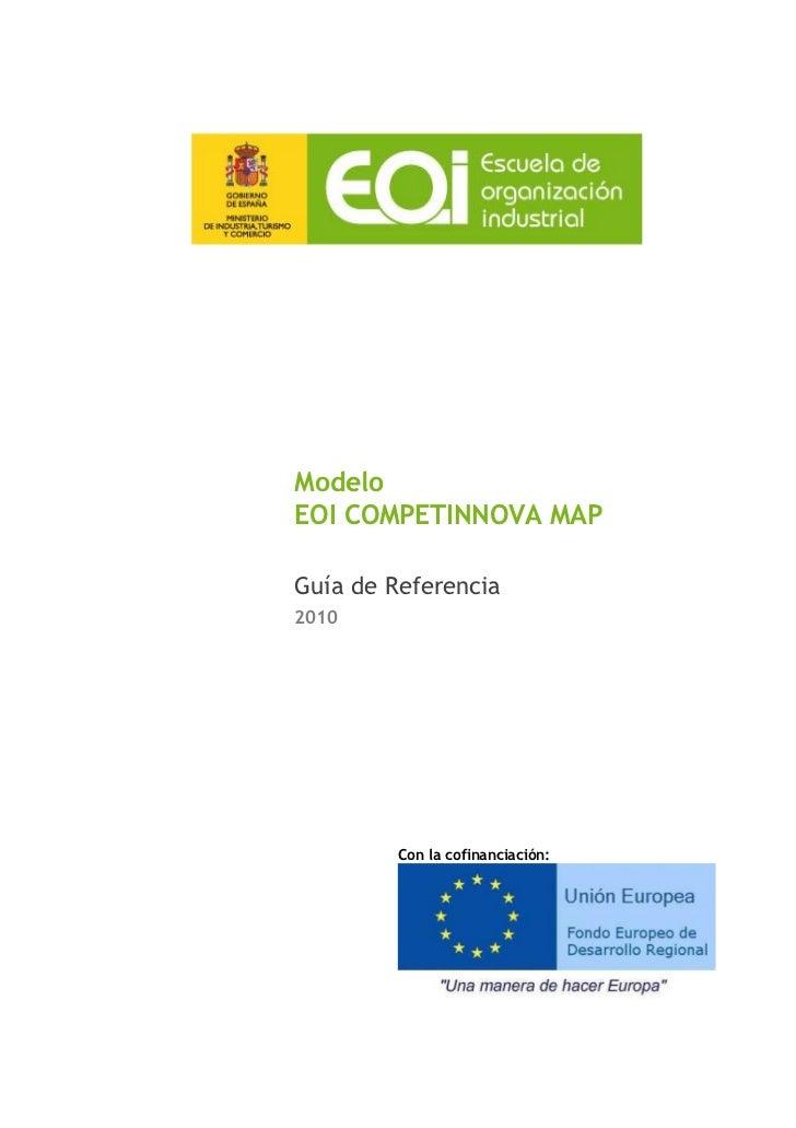 ModeloEOI COMPETINNOVA MAPGuía de Referencia2010         Con la cofinanciación:
