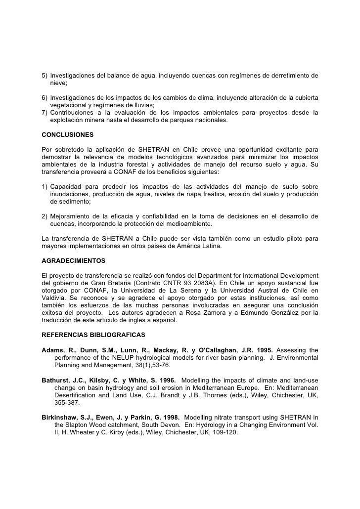 Modelo impactos hidrologicos for Modelo demanda clausula suelo