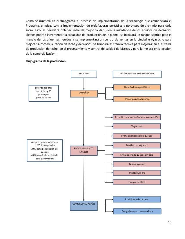 10Como se muestra en el flujograma, el proceso de implementación de la tecnología que cofinanciará elPrograma, empieza con...