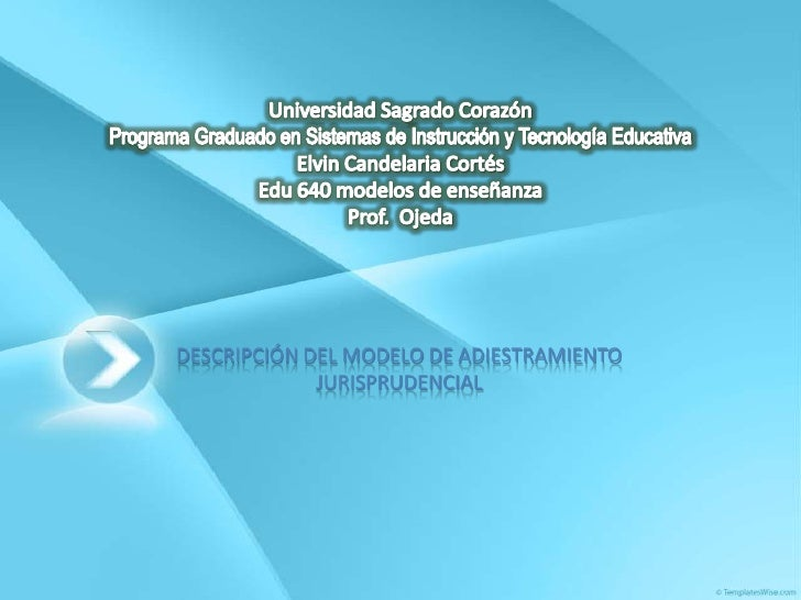 Universidad Sagrado CorazónPrograma Graduado en Sistemas de Instrucción y Tecnología EducativaElvin Candelaria CortésEdu 6...
