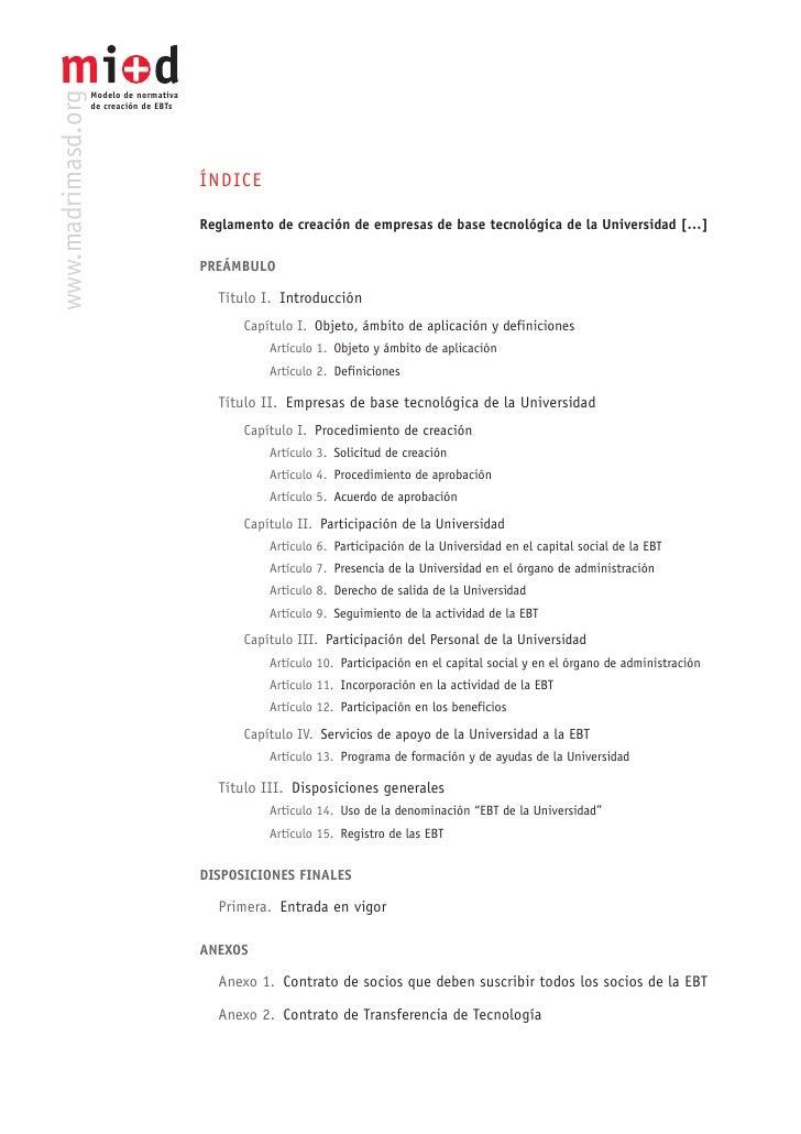 Modelo Madri+D Normativa Creacion Eb Ts Slide 3