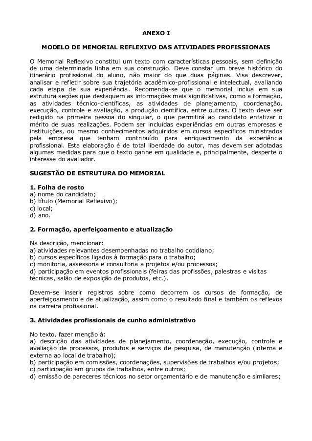 Modelo Memorial Declaracao