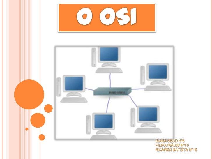 O QUE FOI OSI ?  OSI foi uma das primeiras organizações a definir formalmente uma forma comum de conectar computadores. A ...