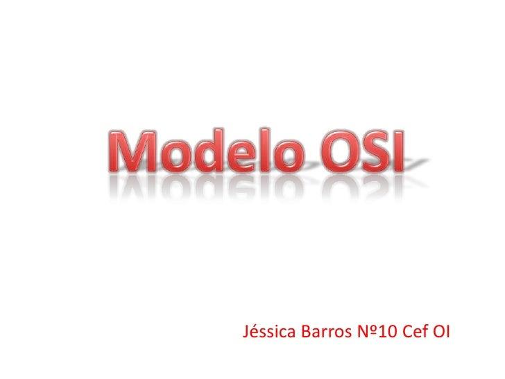 Jéssica Barros Nº10 Cef OI
